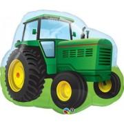 farmyard party Farm Tractor 90cm Qualatex Foil Balloon