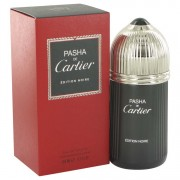 Cartier Pasha De Cartier Noire Eau De Toilette Spray 3.3 oz / 97.59 mL Men's Fragrance 513459