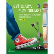 Schott Music Get Ready: Play Drums! 2 Catrien Stremme, Lehrbuch/CD