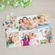 Fényképes puzzle - A4, 6 képpel, 96 db