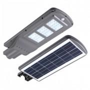 Proiector Stradal, LED 60 W, Panou Solar, Senzor de lumina