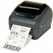 Stampante Zebra GK420D; termica diretta; parallela/seriale rs-232 (db-9)/usb; nessuna opzione.