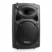 "Altifalante ativo Ibiza SLK12-A 30cm (12"") 700W USB SD MP3"