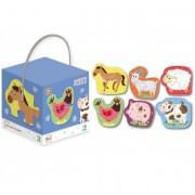 Dodo bébi puzzle 2-3-4 db-os - Háziállatok