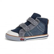See Kai Run Matty High Top Sneakers for Kids, Chambray, 6