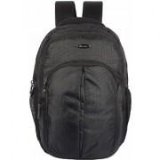HOT SHOT Polyester 30 Liters Black Laptop Backpack