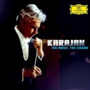 Karajan, Herbert Von - The Music The Legend (CD + DVD, Lim. Deluxe Edition) - Preis vom 20.10.2020 04:55:35 h