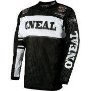 Oneal O´Neal Ultra Lite 75 Jersey Negro/Blanco S