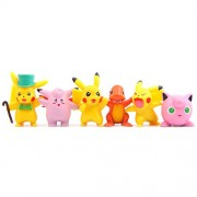 Giftlovers Pokemon Figure Big Action Figures Lot Collectibles Dolls 5 Pcs - 4 to 5 cm Set Random characters