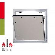 RUG Semin Alumatic Trennwand F/EI30 / F/EI/90 Reviklappe - 2 x 12,5 mm - F/EI/90 - 300 x 300 mm