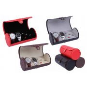 Hangzhou Yuxi Trade Co. Ltd (t/a PinkPree) £10.99 instead of £49.99 for a watch and ring display case in black, brown, red or twill from Pinkpree - save 76%