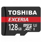 Toshiba THN - M302R1280EA 128 GB Micro SD / TF tarjeta con el adaptador