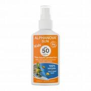 Alphanova Vegan Zonnebrandspray voor Kinderen (SPF 50)