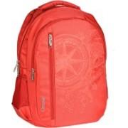 Classic Polyester School Bag |Shoulder Backpacks 32 L Laptop Backpack(Red)