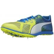 Puma Men s Evospeed Crossfox V3 Trail Runner Safety Yellow/Electric Blue Lemonade/Peacoat 12 D(M) US