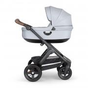 Stokke® Trailz™ Terrain Kinderwagen 2-in-1 Black / Brown / Grey Melange