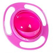 ELECTROPRIME® Non Spill Feeding Toddler Bowl Rotating Baby Avoid Food Spilling