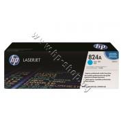 Тонер HP 824A за CP6015/CM6030, Cyan (21K), p/n CB381A - Оригинален HP консуматив - тонер касета