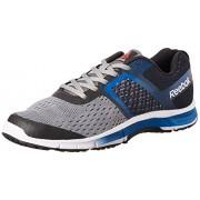 Reebok Men's Ride One Grey, Blue, Black and Gravel Running Shoes - 7 UK/India (40.5 EU) (8 US)