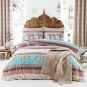 Catherine Lansfield Elephant Duvet Set - Single - Multi
