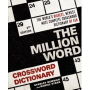 The Million Word Crossword Dictionary, Paperback