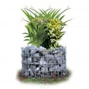 PremiumXL - [pro.tec] Gabion stub - pregrada-žičana mreža - kutija za cvijeće - kutija za bilje