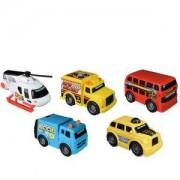 Детска играчка, Той стейт - Работни коли в града, 5 броя в комплект, 063120