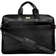 "SCHARF Marios Giovanni - Come Bag Soon 17"" Laptop - Macbook Shoulder Messenger Bag Medium Briefcase - For Men & Women(Black)"