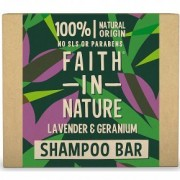 Faith in Nature Sampon Bar - levendula és geránium - 85g