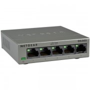 Switch 5 ports 10/100/1000 GS305-100PES metal Netgear