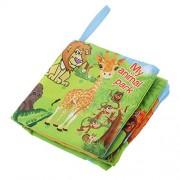 Generic Baby Animal Park Theme Cloth Cognize Book Kid Children Intelligence Development Toys