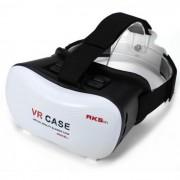 """VR-2 Virtual Reality 3D Gafas Box para Telefonos de 4 ~ 6"""" - Blanco"""
