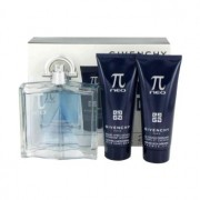Givenchy Pi Neo Eau De Toilette Spray + After Shave Balm + Shower Gel Gift Set Men's Fragrance 480441
