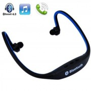 Divyamet Wireless Bluetooth Headphone Sports BS19C Behind-Neck In Ear Stereo Bluetooth Headset With Micro Sd Card Slot