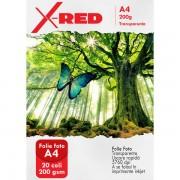 FOLIE FOTO X-RED TRANSPARENTA A4 20 COLI 200G