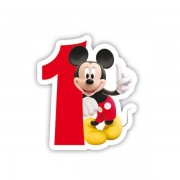 Lumanare party cifra 1 Mickey