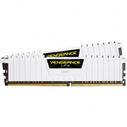 Memorie Corsair 16GB (2x8GB), DDR4, CL16, 2666MHz, Vengeance LPX White