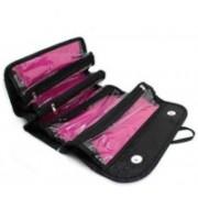 Gabbar Leather 4 In 1 Travel Buddy Cosmetic Shaving Toiletry Bag Storage Organizer Travel Toiletry Kit(Black)
