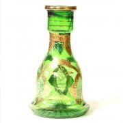 Agami víztartály - 26 cm - Zöld mintás