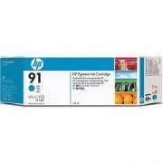 HP 91 ( C9467A ) 775 ml Cyan Ink Cartridge with Vivera Ink