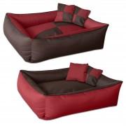 BedDog MAX QUATTRO 2en1 lit pour chien de L à XXXL, 6 couleurs au choix, coussin,panier corbeille pour chien