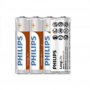 Philips LongLife R03-L4F/10 AAA mikro elem LR03 4db/csomag