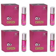 Arochem CRAZY Herbal Attar (Pack of 4)