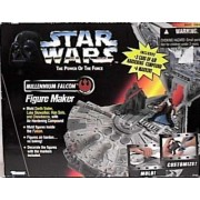 Star Wars Power Of The Force Millennium Falcon Figure Maker By Kenner