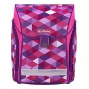 Herlitz Ранец Midi New Pink Cubes