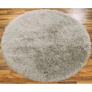 Cascade okrúhly koberec 160cm - strieborná