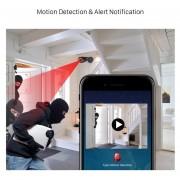 1080P Cámara IP Wifi inalámbrico de infrarrojos de la cámara de seguri