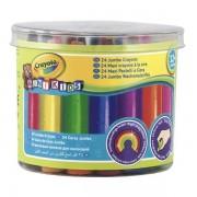 Lobbes Crayola Mini Kids - Dikke Waskrijtjes, 24st.