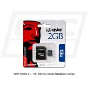 MEMORY CARD MICRO SD KINGSTON 2 GB
