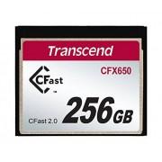 Transcend 256GB CFast2.0 SATA3 SLC, TS256GCFX650